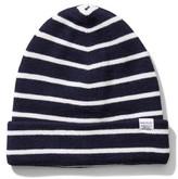 Norse Projects Men's Normandie Stripe Wool Knit Cap - Blue
