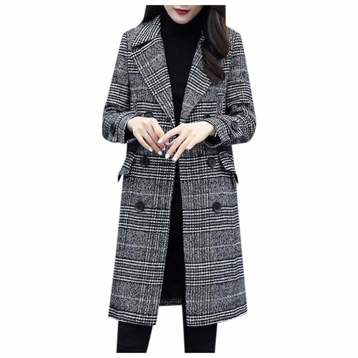 Black Wool Trench Coat Women The, Ladies Black Wool Trench Coat Uk