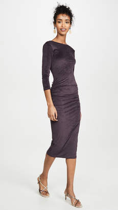 James Perse Fitted Low Back Dress