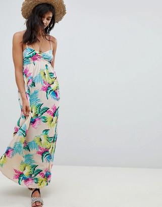 Rip Curl Tropical Maxi Beach Dress-Multi