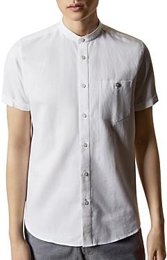 Ted Baker Glate Band Collar Shirt