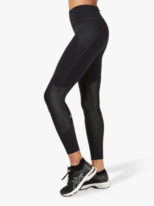Sweaty Betty Power Mesh Gym Leggings, Black