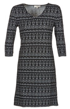Cream MIRA DRESS women's Dress in Black