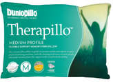Dunlopillo Therapillo Flexible Support Medium Profile Pillow