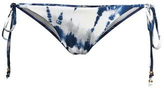 Pq Tie Dye String Bikini Bottoms