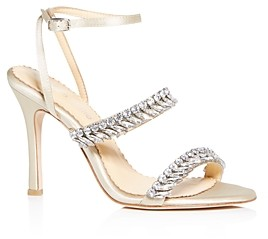 Bella Belle Women's Belinda Crystal Embellished High-Heel Sandals