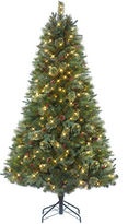 Glucksteinhome Royal Cashmere 7-ft. Christmas tree with Quick Set technology