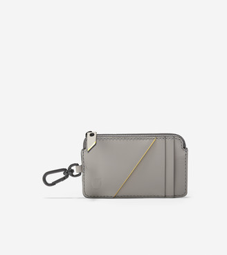 Cole Haan ZERGRAND Zip Card Case With Key Ring