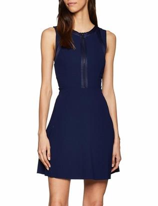 Armani Exchange Women's Zip Detail Dress