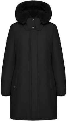 Woolrich Bow Bridge Fur Trim Jacket