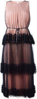 Christopher Kane pleated tulle dress - women - Silk/Nylon/Polyamide/Acetate - 42