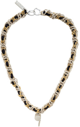 Landlord Silver and Gold Coach Lace Necklace