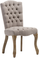 Baxton Studio Clemence French Provincial Upholstered Dining Chair