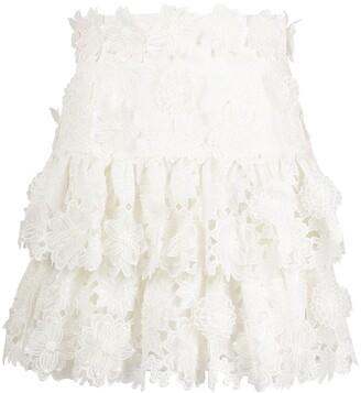 Zimmermann Lovestruck mini skirt