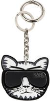 Karl Lagerfeld Kat mirror and PVC key fob