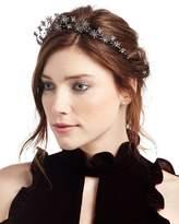 Jennifer Behr Starlight Crystal Headband, Dark Gray