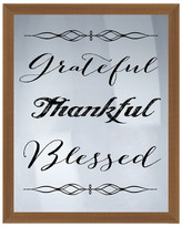 """PTM Images Grateful, Thankful Wall Decor - 16.75"""" x 20.75"""""""