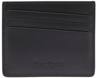Maison Margiela 11 Logo Card Holder - Mens - Black