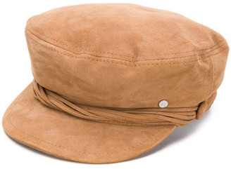 Maison Michel New Abby Leather Hat