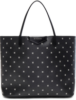 Givenchy Large Mini Lilies Print Antigona Tote