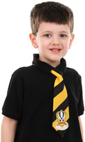 Elope Boys' Neckties - Harry Potter Gold & Black Stripe Hufflepuff Tie