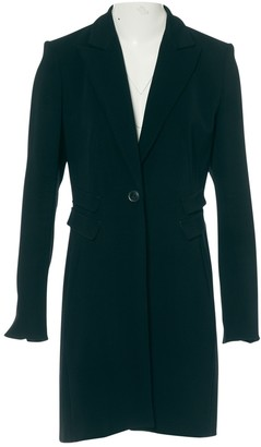 Odeeh Black Viscose Coats