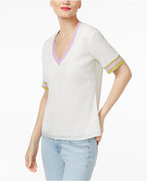 Cynthia Rowley CR By Colorblocked T-Shirt, Created for Macy's