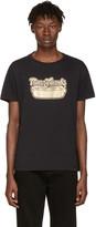 Marc Jacobs Black Hot Dog Logo T-Shirt