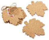 Kate Aspen 12ct Leaf Cork Coasters