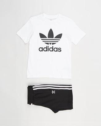 adidas Adicolor Tee and Shorts Set - Kids