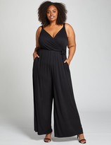 Lane Bryant Crossover Ankle Jumpsuit