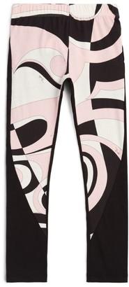 Emilio Pucci Junior Heliconia Print Leggings (4-14 Years)