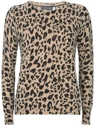 Mint Velvet Leopard Print Knit Jumper