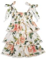 Zimmermann Kids Little Girl's & Girl's Kirra Tiered Dress