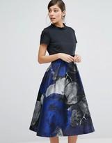 Coast Lucy Jacquard Skirt A-Line Dress