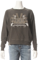The Great Caper Print College Sweatshirt