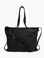 Lanvin Black Leather 2-in-1 Bag