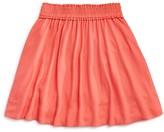 Kate Spade Girls' Smocked Pull On Skirt - Sizes 7-14