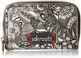 Sakroots Women's Artist Circle Zip Id Case Coin Purse