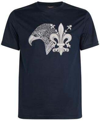 Stefano Ricci Eagle Graphic T-Shirt
