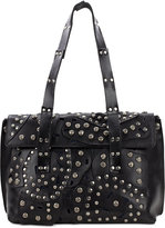 Patricia Nash Studded Link Asti Large Flap Satchel