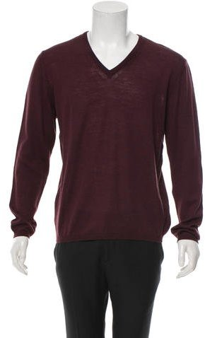 Gian Carlo Rossi Wool V-Neck Sweater w/ Tags