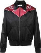 Saint Laurent Western bomber jacket - men - Cotton/Viscose - XS