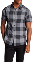Howe Blacksand Beach Short Sleeve Plaid Shirt