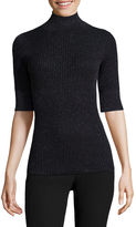 WORTHINGTON Worthington Elbow Sleeve Turtleneck Pullover Sweater