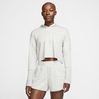 Nike Women's Cropped Hoodie Yoga Luxe