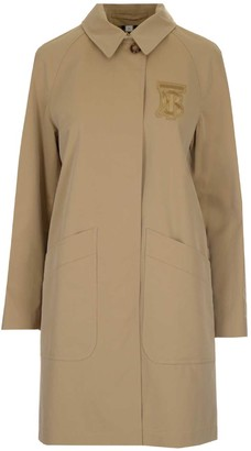 Burberry Monogram Motif Car Coat