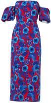 Borgo de Nor Blue Cotton Dress for Women