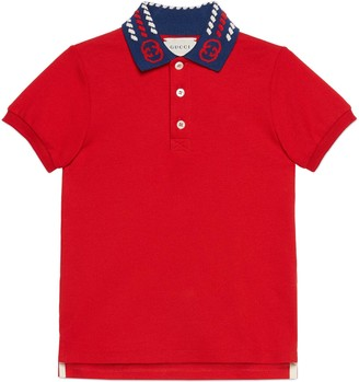 Gucci Children's cotton polo shirt