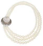 Miu Miu Women's Multistrand Imitation Pearl Necklace